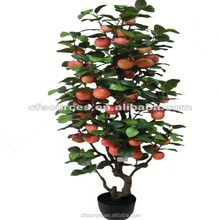 Wholesale Cheap Price Ornamental Artificial Apple Tree Handmade Fruit Trees