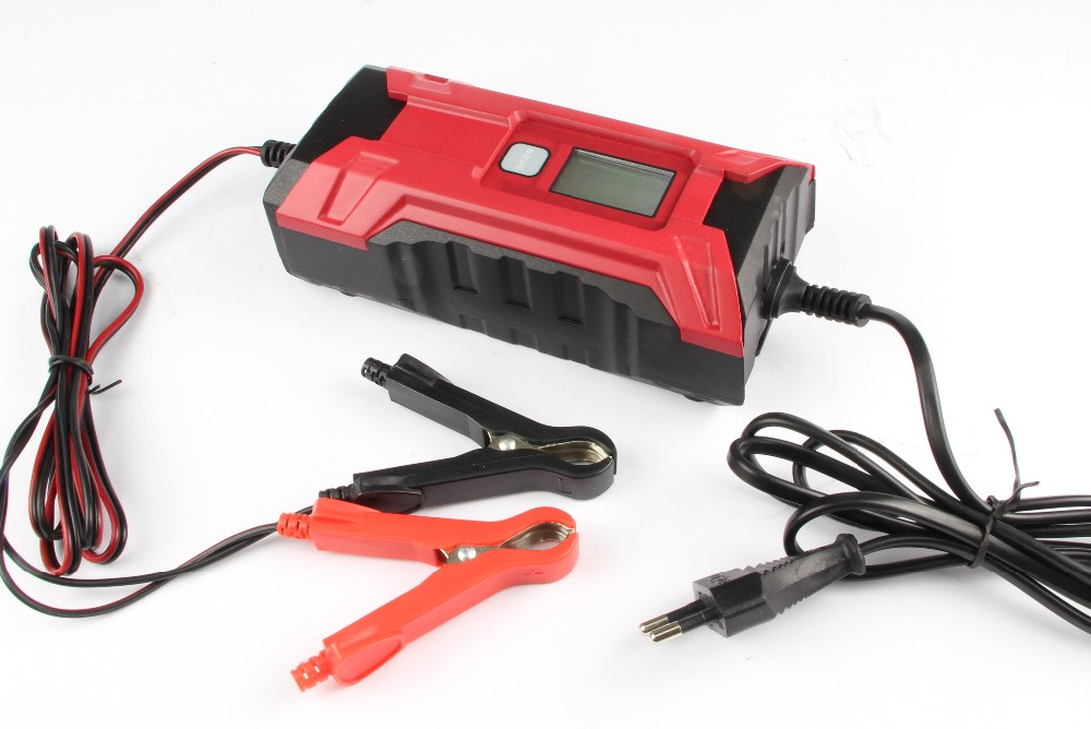 12V 4A automatic battery charger