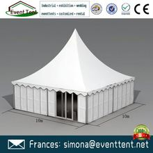 durable uv resistant fabric gazebo tent for outdoor wedding party event for sale with pvc coated