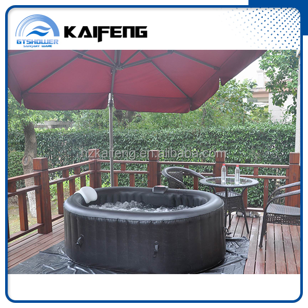 One Person Outdoor Hot Tub with Pop-up Speakers