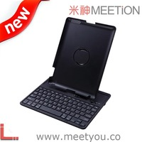 2015 new design 360 degree rotate wireless keyboard case for ipad
