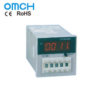 DH48J NO NC Uninterrupted Electronic Preset Counter 48x48x97mm