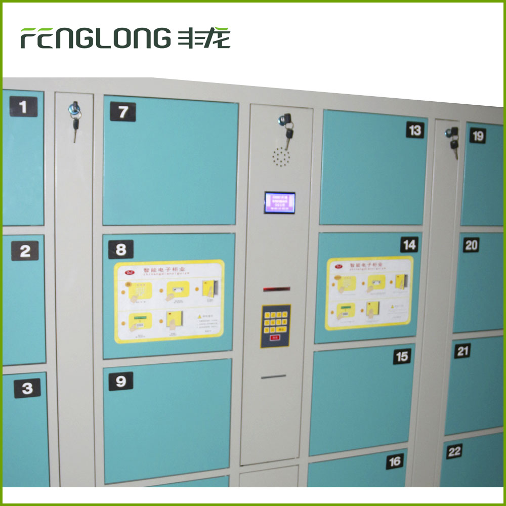 common type GYM storage steel electronic code metal cabinet locker