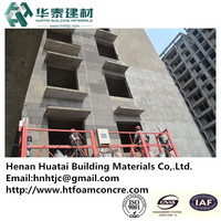 HT cellular lightweight concrete panel & outwall heat insulation board
