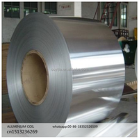 1000 series brightaluminum foil/ mill finish aluminum coil in rolls