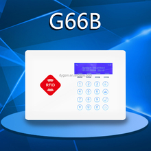 2016 latest RFID+CID+APP compatible two way alert touch button security of gsm of alarm of system instruction in the