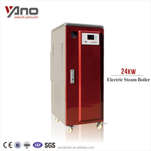 24KW 34.4Kg/h Electrical Equipment Soya Bean Steam Boiler for Industrial Cooking Kettle