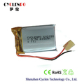 Best lipo battery 3.7V 600mah 602030 rechargeable battery