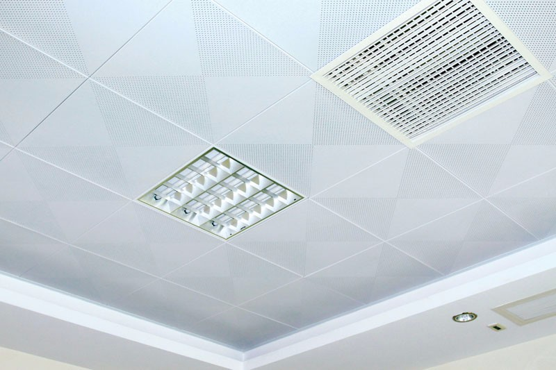 600x600mm Aluminum Perforated Ceiling Tiles (DG6060AP001)