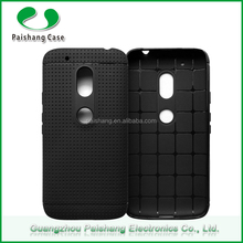 High quality cheap price soft back cover TPU honeycombo phone case For Motorala G4