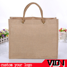 custom personalised jute bag