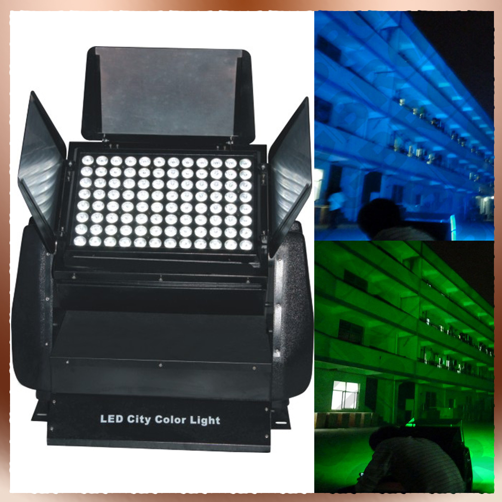 Hot selling 96x12W RGBW 4in1 color LED f wall wash light with DMX control