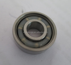 Hybrid ceramic ball bearing 6202 used in motorcycles