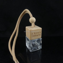 square car perfume bottle hanging Air Freshner Empty bottle without perfume
