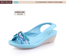 Best selling China shoe factory wholesale fancy 2015 ladies khussa sandal shoes