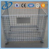 ISO9001 galvanized steel dog cages and welded wire mesh large dog cage