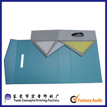 paper magnetic cardboard carrying box with handle
