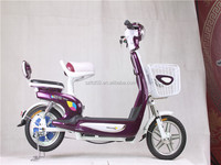 Beautiful girl will look this new arrival product electric bike hot sell with pedals
