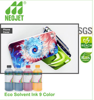 eco friendly bulk ink eco solvent dye pack for epson printer 9800 crystal glass digital printing ink