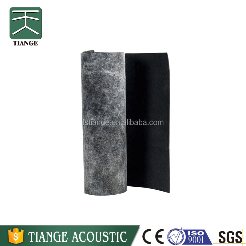Sound absorbing material acoustic isolation sound proof pads