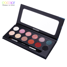 Original Docolor Y1201 12 color beautiful high quality new model eyeshadow