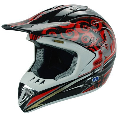 ECE motor ATV/ dirt bike motocross safety helmet