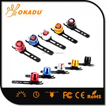 CE, ROHS Certification Back and Front Light Position LED Bicycle Light Safety Warning Light