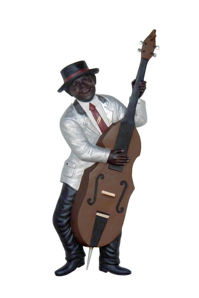 RESIN JAZZ BAND (BASS GUITAR) WALL DECOR