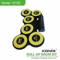 Portable Sillicon Drum Roll Up Drum Kit Roll Up Electronic Drum Set for Children