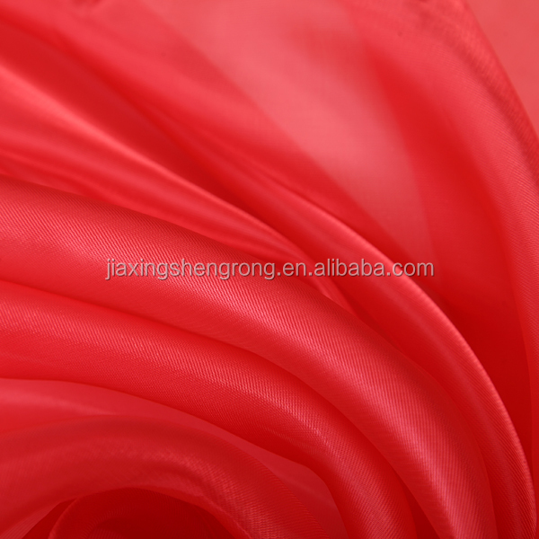 Hot sale 10% discount for ready Korea organza fabric
