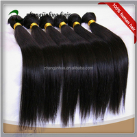 Natural color high quality great lengths hair extension machine sew