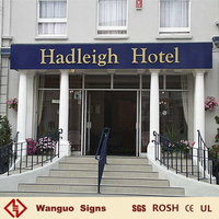 WGY-051 Optional sizes door hotel sign