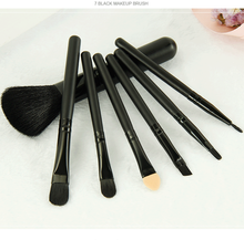 7pcs High Demands Wood Handle Makeup Brush For <strong>Cosmetic</strong> With Professional Makeup Brushes Set