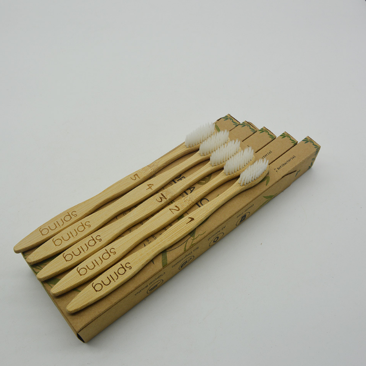 Soft Bristles Eco-friendly toothbrush set for Adults and Kids custom bamboo toothbrush charcoal