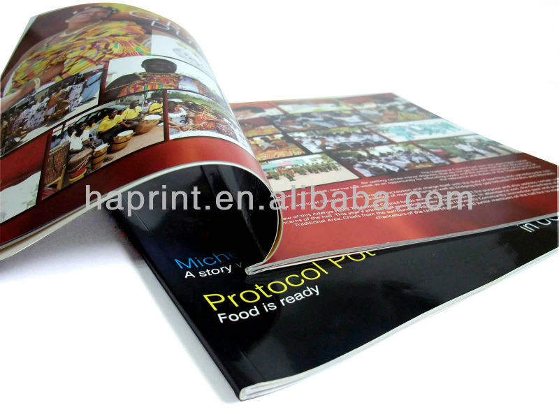Print Magazine With Perfect Binding/Revista/Magazin