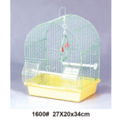 High quality plastic wire cage foldable pet cage bird cage water fountain