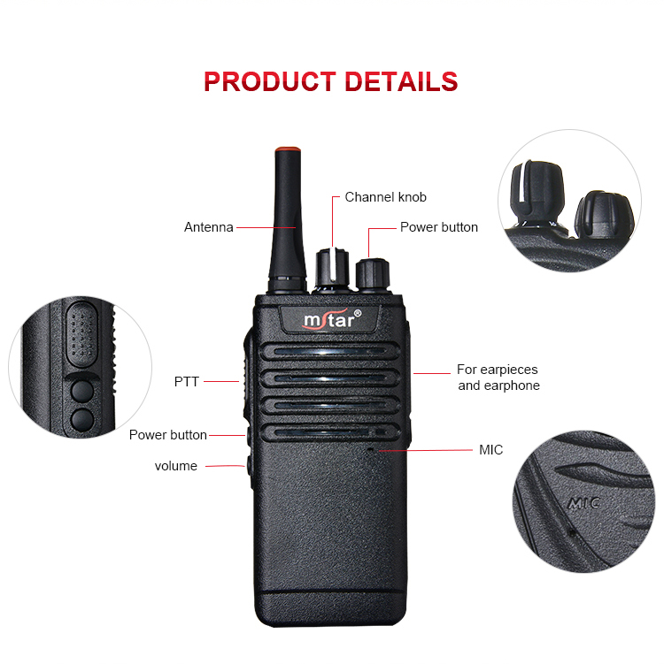 Mstar CK169 ip54 protective design military quality wifi walkie talkie with sim card