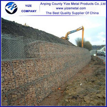Galvanized iron material welded galvanized gabion baskets price