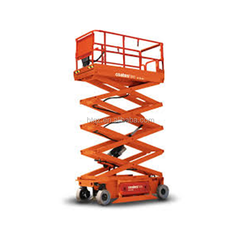 CE self propelled hydraulic drive lightweight scissor lift