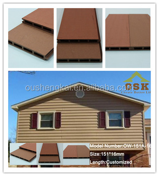 Outdoor waterproof exterior wall panels outdoor wpc wall cladding