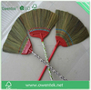 Indoor use cleaning grass broom straw,with pvc handle grass broom straw