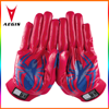 China custom design your own american football gloves for u