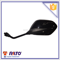 high performance cheap price black color M10 motorcycle right rear view mirror wholesale