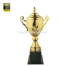 black plastic base large trophy sport cup football trophy souvenir