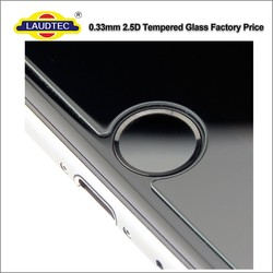 Shenzhen Laudtec 100% genuine tempered glass flim screen protector for IPhone 6 6s ------ Laudtec