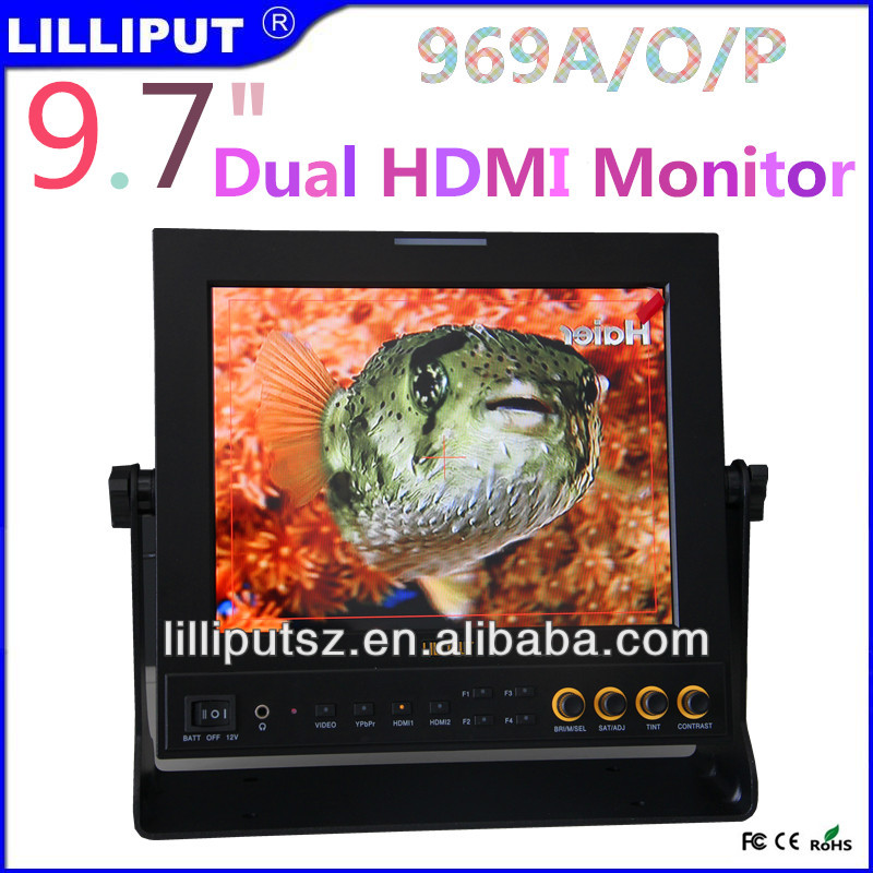 "Lilliput 969A/O/P 9.7"" LCD Field Monitor"