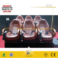 On-time shipment simulator 5d 7d cinema from Wangdong