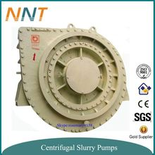 Heavy duty anti-abrasive mud dredging pump sand dredger for rivers and channels