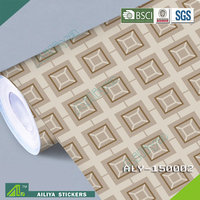 Eco-friendly flexible length pvc decoration polyester self-adhesive film