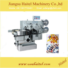 High Efficiency Automatic Caramel Chocolate Candy Wrapping Machine
